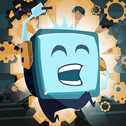 Mechanic Escape - Mechanic escape is a platform game full of infernal chases. - logo
