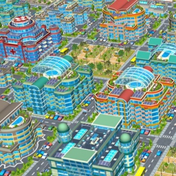 Megapolis - Build plenty of housing and services to keep residents happy in Megapolis! - logo