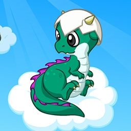 Mini Dragon - Who doesn't want to dress up an adorable Mini Dragon?  Customize your baby dragon just the way you want in the FREE game Mini Dragon! - logo
