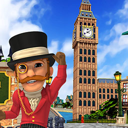 Monument Builders: Big Ben - In the time management game Monument Builders: Big Ben, it's up to you to build this famous clock! - logo