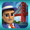 Monument Builders: Golden Gate Bridge - logo