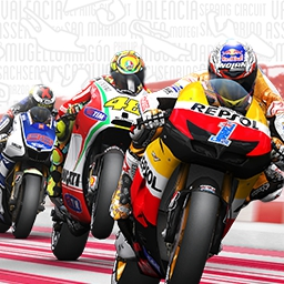 MotoGP™ 13 - Become a rider in the MotoGP™ 13 world!  Race like a pro in this game that contains the officially licensed riders, teams, tracks and rules! - logo