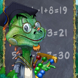 Murfy Maths - Do you know your sums? In Murphy's new adventure you'd better be able to add, multiply and subtract on your feet to progress. Play Murfy Maths today! - logo