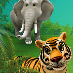 My Free Zoo - Run your very own zoo in My Free Zoo, an online simulation game. - logo