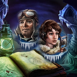 Mystery Stories: Mountains of Madness - Mystery Stories: Mountains of Madness es un juego de objetos ocultos basado en el cuento de H.P. Lovecraft. - logo