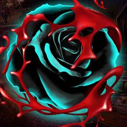Myths of the World Black Rose - Track down a vampire on a riverboat in the hidden object game Myths of the World Black Rose. - logo