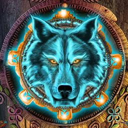 Myths of the World: Spirit Wolf - Investigate strange glyphs and your family's past in the adventure game Myths of the World: Spirit Wolf! - logo