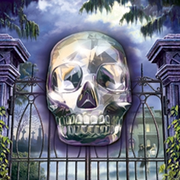 Nancy Drew: Legend of the Crystal Skull - Meander the French Quarter as Bess Marvin and locate the crystal skull. - logo