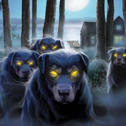 Nancy Drew: Ghost Dogs Of Moon Lake - A friend's frantic note sets you on the trail of a mysterious pack of dogs. Hunt for clues in Nancy Drew: Ghost Dogs Of Moon Lake! - logo