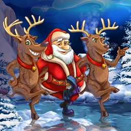 New Yankee in Santa's Service - Santa's reindeer are gone!  It's up to you to find them in this time management game, New Yankee in Santa's Service. - logo