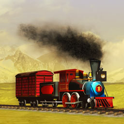 Next Stop - Can you stop the railroad company from going bankrupt? Find out in the strategy game Next Stop! - logo