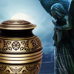 Nightfall Mysteries Haunted by the Past - Who wanted your grandfather dead? Play the hidden object game Nightfall Mysteries Haunted by the Past! - logo