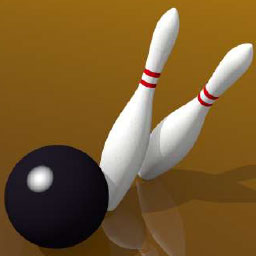 Ninepin Bowling Simulator - Ninepin Bowling Simulator is a digital version of the wildly popular German sport. Play now! - logo