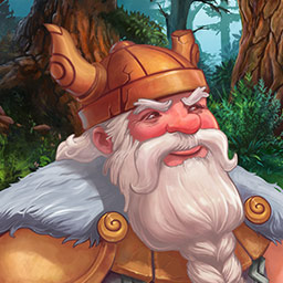 Northern Tale 4 - Evil knights, witches and giants are coming. It's up to you and Ragnar to stop them in the time management game Northern Tale 4! - logo
