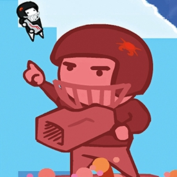 No Time To Explain - Your future self appears to you with a time travel device, but he has No Time To Explain before he's whisked away in this comedy, action-platformer. - logo