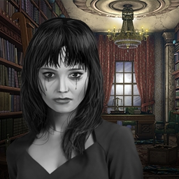Old Painting's Ghost - Discover the secret of the missing aristocrat, the strange painting and a series of murders in the hidden object game Old Painting's Ghost. - logo