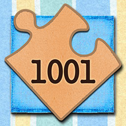 1001 Jigsaw Earth Chronicles - Put together 1001 photos of animals, plants and beautiful landscapes from the world around us in the puzzle game 1001 Jigsaw Earth Chronicles. - logo