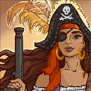 Pirate Mosaic Puzzle Caribbean Treasures - logo