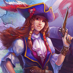 Pirate's Solitaire 2 - You may be a pirate, but Britain needs your help! Conquer the ocean in over 100 levels of the classic card game in Pirate's Solitaire 2! - logo