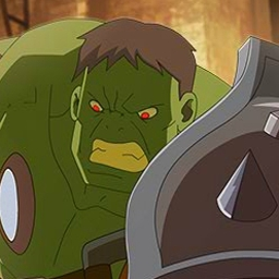Planet Hulk Gladiators - In Planet Hulk Gladiators, the Red King has captured the Hulk and is forcing him to fight.  Can he defeat his alien opponents? Play now for free! - logo