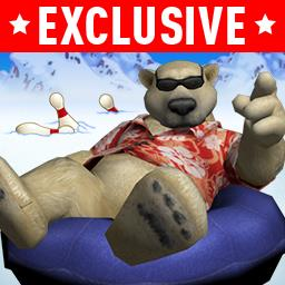 Polar Bowler (CLASSIC) - Join Polar Bowler at Chill Pin Alley - send him sailing into pins! - logo