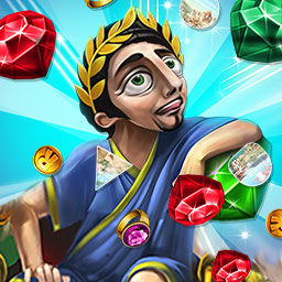Puzzle-Adventure 2-in-1 Bundle - Get Cradle of Rome and Around the World in 80 Days, two classic match 3 games, in the Puzzle-Adventure 2-in-1 Bundle! - logo