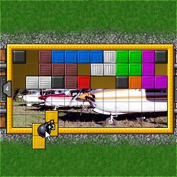 Puzzle Express - Fill the train with pictures and travel to new cities in Puzzle Express! - logo