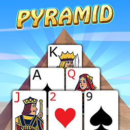 Pyramid Solitaire with Themes - logo