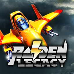 Raiden Legacy - Get 4 of the popular Raiden arcade games in Raiden Legacy! It's classic, scrolling shooter fun! - logo