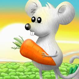 Rat and Louie - Rat and Louie is a darling and delicious match 3 game! - logo
