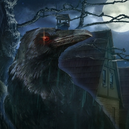 Redemption Cemetery: Curse of the Raven - Ghosts haunt this cemetery, trapped until someone frees them.  Will you help?  Play the hidden object game Redemption Cemetery: Curse of the Raven! - logo