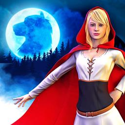 Red Riding Hood: Star-Crossed Lovers - The hidden object game Red Riding Hood - Star-Crossed Lovers is a fun twist on this classic story! - logo
