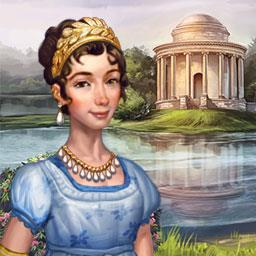 Regency Solitaire - In Regency Solitaire, Bella must play her cards right to reclaim a lost fortune and find love. - logo