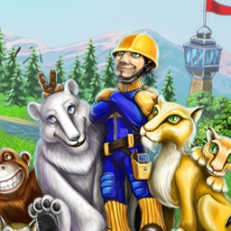 Rescue Frenzy - Guide courageous workers in Rescue Frenzy as they deal with the aftermath of storms, earthquakes, and wildfires in this Time Management game! - logo