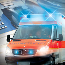 Rescue Simulator 2014 - Are you ready to manage your own ambulance station? Coordinate vehicles and personnel in the simulation game Rescue Simulator 2014. - logo