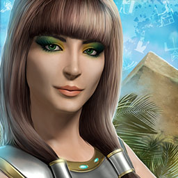 Riddles of Egypt - Solve ancient puzzles and figure out devious riddles to defeat an ancient evil in Riddles of Egypt! - logo