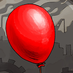 Rise of Balloons - With your help, one hopeful child will be able to solve puzzles and share her joy with the other residents, but a single balloon is not enough... - logo
