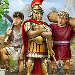 Roads of Rome - Use your time management skills to build the Roads of Rome! - logo