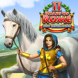 Roads of Rome: New Generation 2 - Help restore the destroyed settlements and build roads on the distant borders of the Empire. - logo