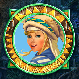 Robin's Island Adventure - After finding yourself stranded on a desert island, you must use your Match 3 and hidden object skills to get home in Robin's Island Adventure. - logo