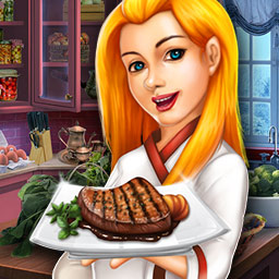 Rory's Restaurant - Winter Rush - Help Rory save her uncle's business in Rory's Restaurant - Winter Rush, a match 3 game! - logo