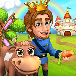 Royal Story - Grow your tiny kingdom into a fantastic empire and stop an evil witch in Royal Story, an online simulation game. - logo