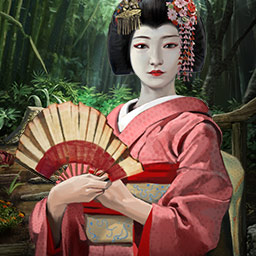 Runaway Geisha - To find your mother, you must enter the mysterious world of the Geisha in Runaway Geisha, a hidden object game. - logo