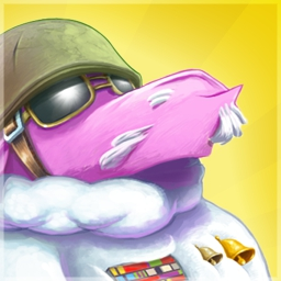 Saving Private Sheep - In Saving Private Sheep, put your brain cells to the test as you overcome 148 levels and help General Sheepard save his woolen warriors. - logo