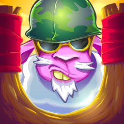 Saving Private Sheep 2 - Puzzle your way through Saving Private Sheep 2 and help General Sheepard save sheep from the foxes! - logo