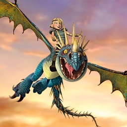 School of Dragons - Explore the exotic land of Berk with Hiccup and Toothless in School of Dragons! Race your own dragon to prove your skills! - logo