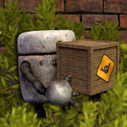 Scrap Garden - Scrap Garden is a charming puzzle platformer about the adventures of Canny - logo
