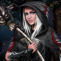 Season Match 3: Curse of the Witch Crow - In Season Match 3, use your match 3 skills to help defeat an evil witch! - logo
