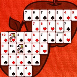 Shape Solitaire - Enjoy a combination of cards and puzzles ... rounds of fun! - logo