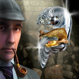 Sherlock Holmes: Secret of the Silver Earring - Sherlock Holmes: Secret of the Silver Earring is a delightful mystery game! - logo